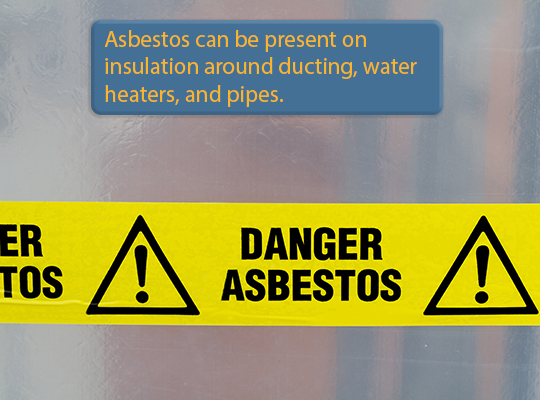 Asbestos is one of the 8 things home inspectors won't check