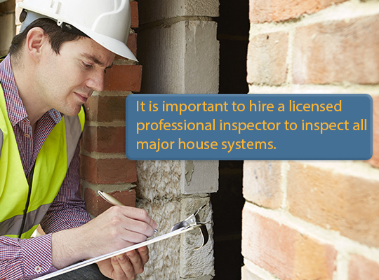 Home Inspection Results how to choose a home inspector & other tips | homemd