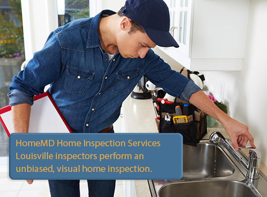 HomeMD Louisville home inspection services Louisville Kentucky unbiased visual home inspection