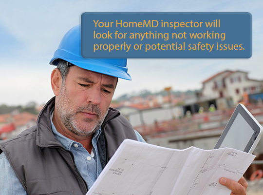 A house inspection cost will cover checking for potential safety issues