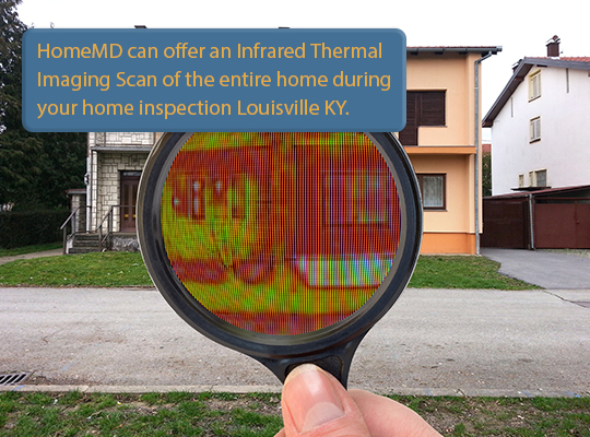 Home Inspections Louisville KY infrared thermal imaging